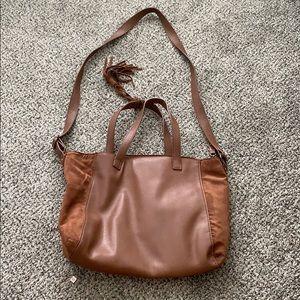 AE Faux Leather / Velvet Purse